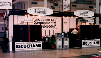 Space Equipment in Intermusic 1994 Trade Fair, Valencia