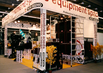 Space Equipment in Frankfurt Musikmesse 2002 Trade Fair